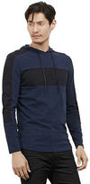 Kenneth Cole Long Sleeve Colorblock Hoodie