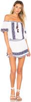 Parker Tammy Dress in White