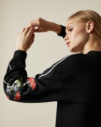 Ted Baker KRINA Highland embroidered sweatshirt