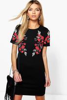 boohoo Camy Floral Printed Shift Dress