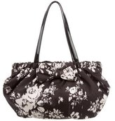 RED Valentino Pleated Bow Shoulder Bag