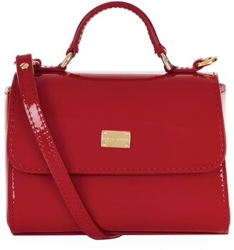 Dolce & Gabbana Kids Flap Front Shoulder Bag