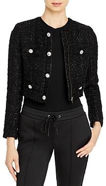 Pam & Gela Boucle Cropped Jacket