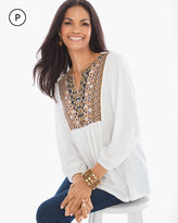 Chico's Embroidered Tunic