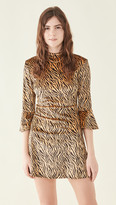 Thumbnail for your product : HVN Mini Ashley Bell Sleeve Dress