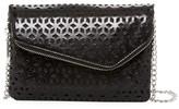 Hobo Daria Laser Cut Leather Crossbody Clutch