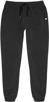 Derek Rose Devon charcoal brushed cotton pyjama trousers