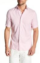 Gant Beach Oxford Short Sleeve Fitted Shirt