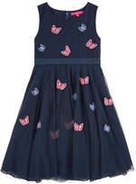 Derhy Kids Embroidered tulle dress