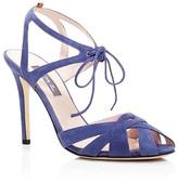 Sarah Jessica Parker Keating Suede High Heel Sandals - 100% Bloomingdale's Exclusive