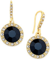 INC International Concepts Round Stone Drop Earrings, Only at Macy's