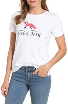 Draper James Women's Feelin' Foxy Tee