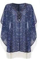 Yumi Beaded Tunic Top