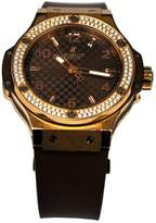 Hublot Big Bang pink gold watch