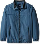 Nautica Men's Big and Tall Poly Blouson withfleece Lining