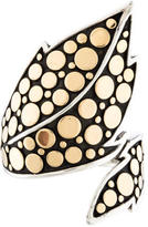 John Hardy Dot Leaf Ring