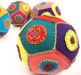 Little Yellow Birds Patchwork Ball