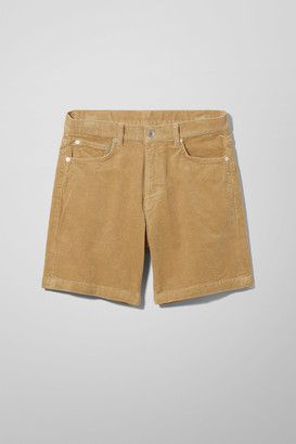 Weekday Vacant Cord Shorts - Black