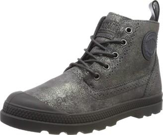 Palladium Women's Pampa LDN Lp Mid Mtl Slouch Boots