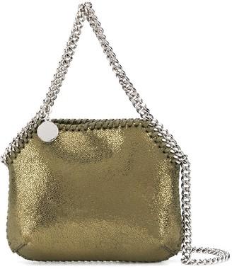 Stella McCartney mini metallic Falabella bag