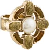 Chanel Enamel Cocktail Ring