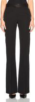 Victoria Beckham Barathea Shine Flare Trousers