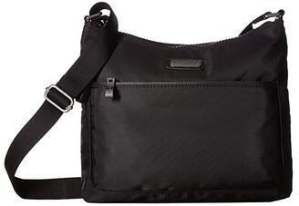 Baggallini Greenwich Crossbody (Black) Handbags