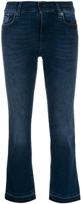 7 For All Mankind Illusion Integrity cropped jeans