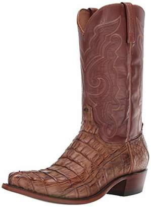 Lucchese Bootmaker Men's Franklin Western Boot Burnished/tan