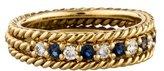 Christian Dior Diamond & Sapphire Band