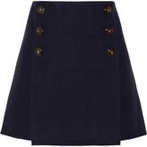 Sonia Rykiel Boiled wool mini skirt