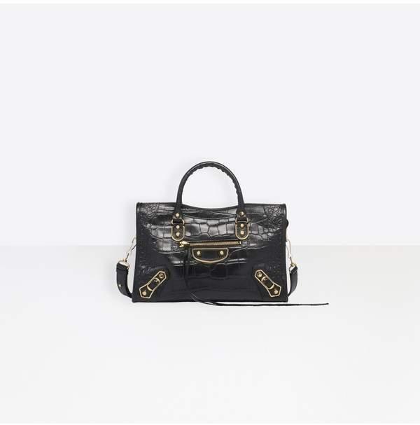 b67a5011f977 Balenciaga Metallic Edge City Bag - ShopStyle