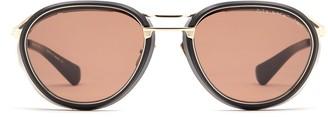 Dita Eyewear Round Aviator Frame Sunglasses