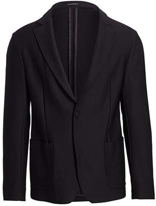 Emporio Armani Textured Soft Jacket