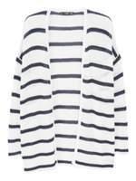MANGO Striped cardigan
