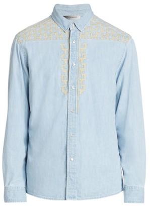 Isabel Marant Ruiz Denim Button-Up Shirt