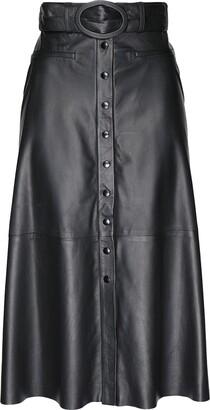 8 By YOOX 3/4 length skirts