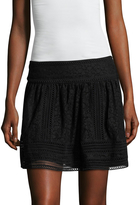 Joie Women's Darby Lace A Line Skirt
