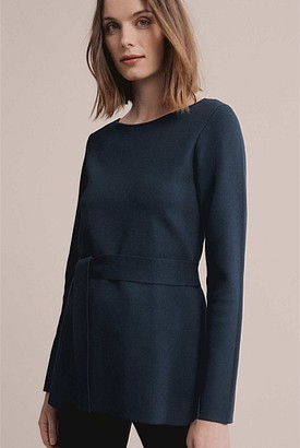 Witchery Belted Milano Knit