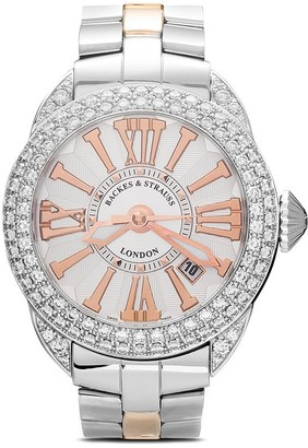 Backes & Strauss Piccadilly Steel 40mm