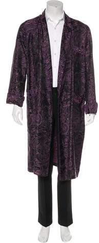 Etro Paisley Jacquard Robe