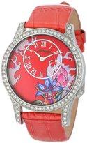 Ed Hardy Women's EL-PK Elizabeth Pink Watch