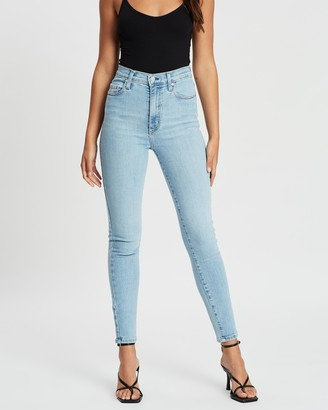 Nobody Denim Women's Blue Crop - Siren Skinny Ankle Jeans - Size 27 at The Iconic
