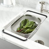 Crate & Barrel Over-The-Sink Mesh Colander