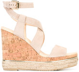 Hogan ankle length sandals - women - Leather/Suede/rubber - 38