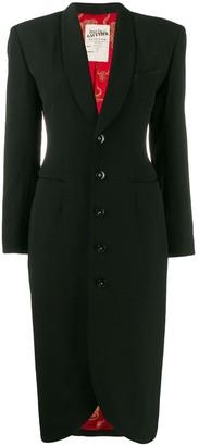 Jean Paul Gaultier Pre-Owned petal-shaped midi coat