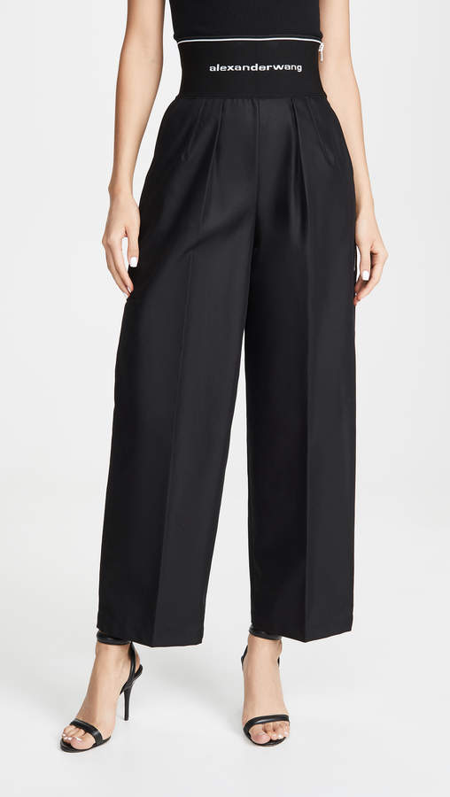 super popular free delivery buy online Alexander Wang Black Women's Pants - ShopStyle