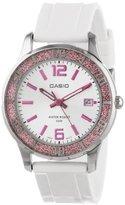 Casio Women's LTP1359-4AV Women's Pink Bezel Watch LTP1359-4AV Watch