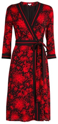 Claudie Pierlot Printed Wrap Dress