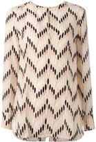 Marni crepe de chine printed blouse - women - Silk - 40